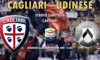 diretta live Cagliari-Udinese risultato formazioni 2016/2017