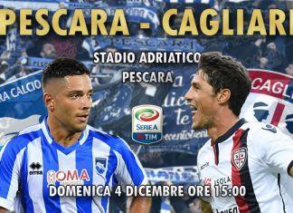 diretta live Pescara-Cagliari risultato formazioni 2016/2017
