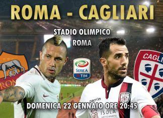 diretta live Roma-Cagliari risultato formazioni 2016/2017