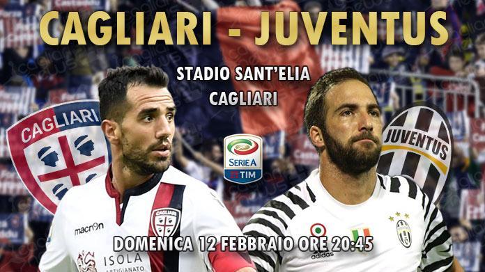 diretta live Cagliari Juventus risultato formazioni 2016/2017