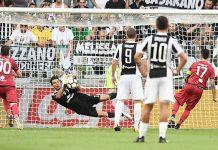 rigore Farias Juventus Cagliari