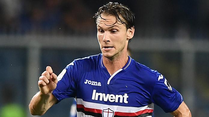 Terza Maglia Sampdoria ALBIN EKDAL