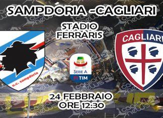 sampdoria-cagliari diretta tv streaming