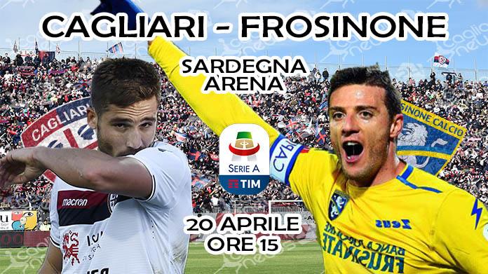 Cagliari-Frosinone 1-0, pagelle e tabellino