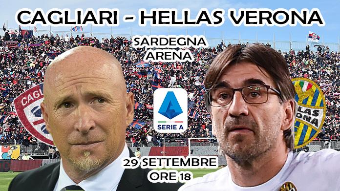 Cagliari-Verona 1-1 LIVE, tabellino e cronaca in diretta