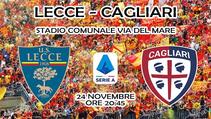 Lecce-Cagliari, diretta tv e streaming: dove vederla - Cagliari News 24