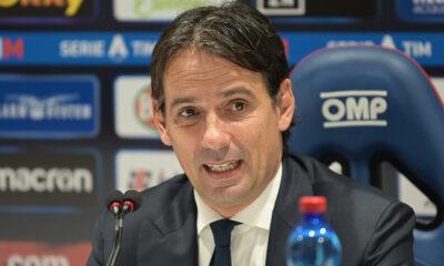 Simone Inzaghi Cagliari-Lazio