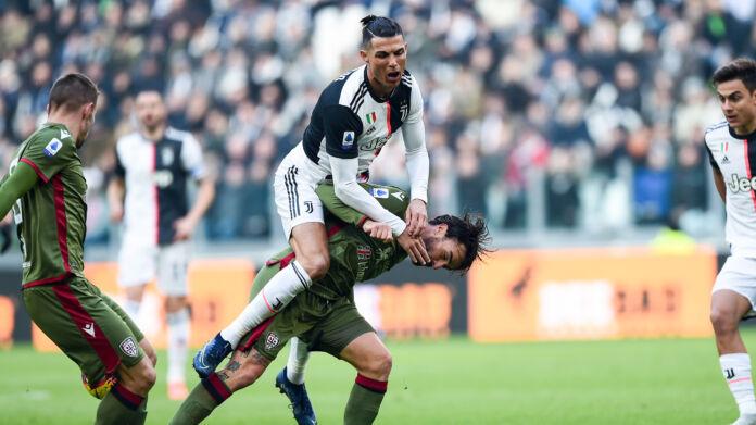 Juventus-Cagliari 4-0, Ronaldo manda ko i rossoblù
