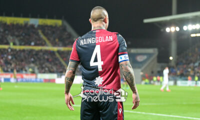 infortunio Nainggolan Cagliari