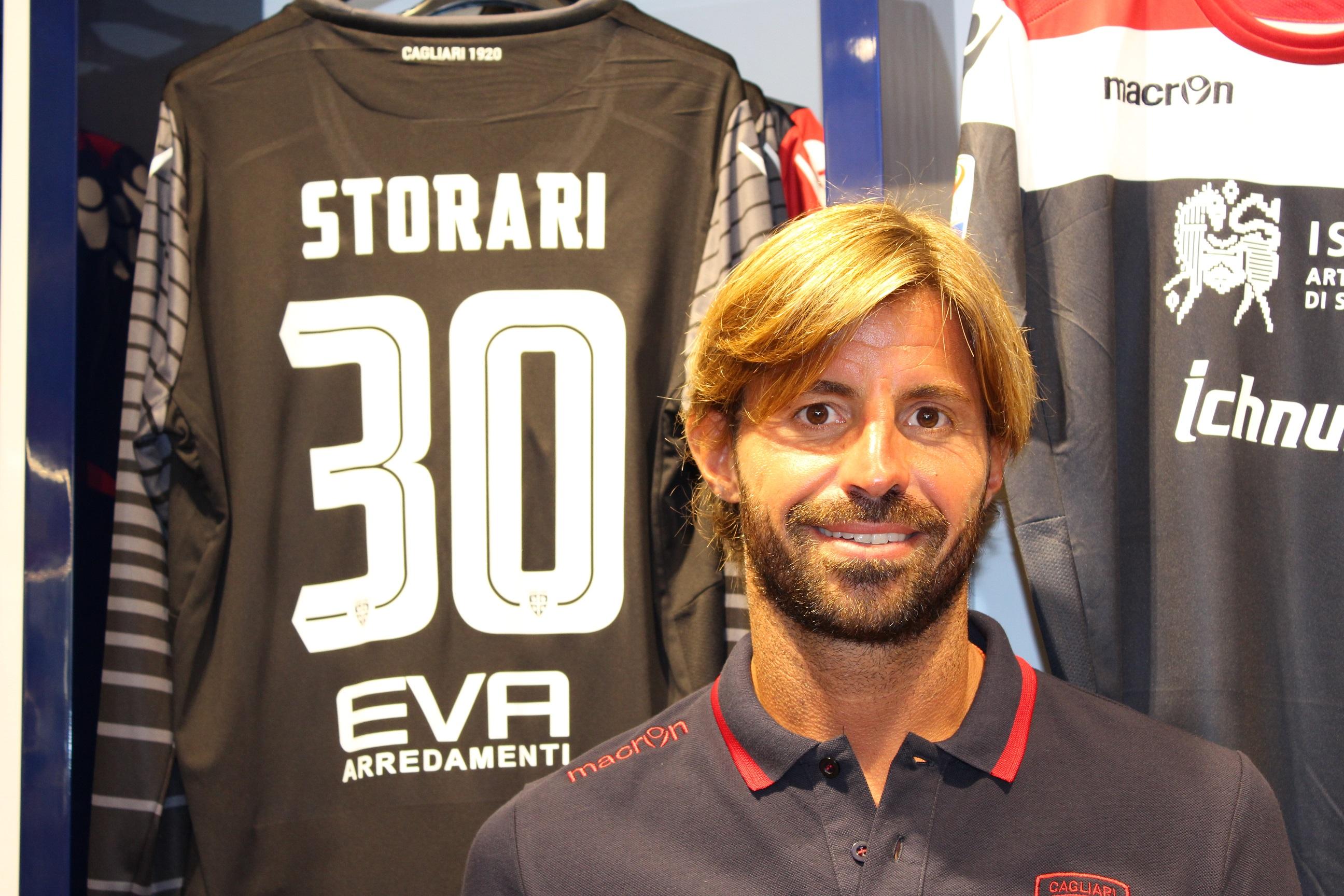 Marco Storari, al Cagliari dall'estate 2015